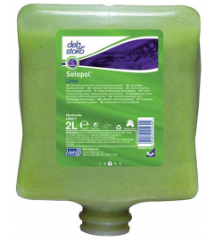 DEB STOKO SOLOPOL LIME HANDREIN. 2l