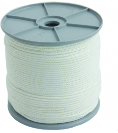 TOUW NYLON WIT 4mm x 200m per ROL