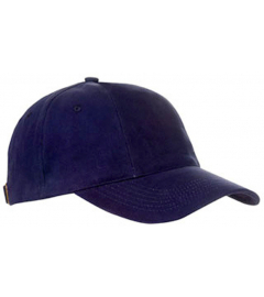 CAP TURNED BRUSHED MARINEBLAUW